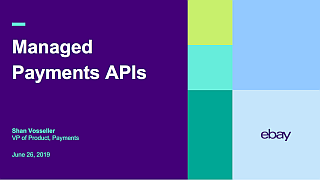 Managed Payments APIs